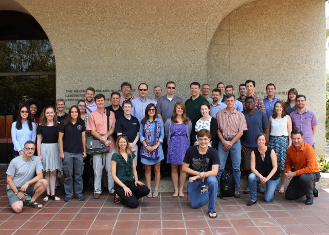 Members of the Mars 2020 Perseverance rover Mastcam-Z team gathered for a photograph after their team meeting at Caltech in August, 2015.